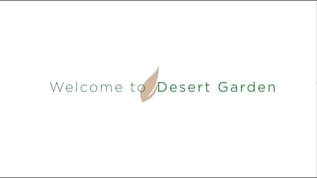 Desert Garden Welcome