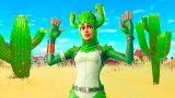 Pretending to be a Cactus In Fortnite…