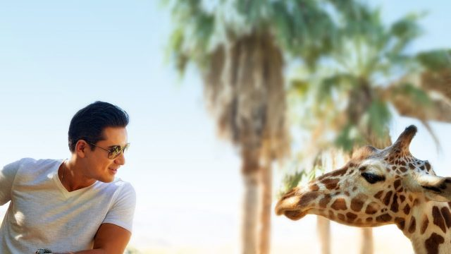 Mario Lopez visit The Living Desert Zoo for a Family Outing in Greater Palm Springs