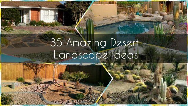 35 Amazing Ideas For Dessert landscape