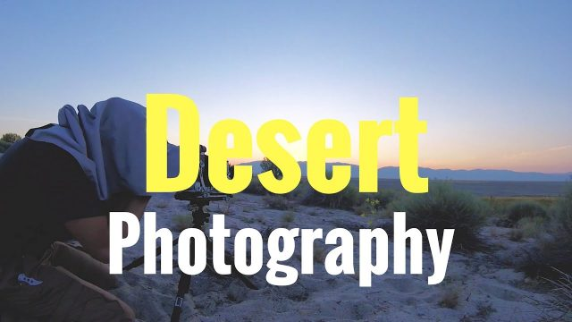 Desert Photography – 4×5 Large Format Shoot