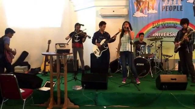 This love. Bogor Montessori band. 24 Aug 14. Beatle people 30th birthday