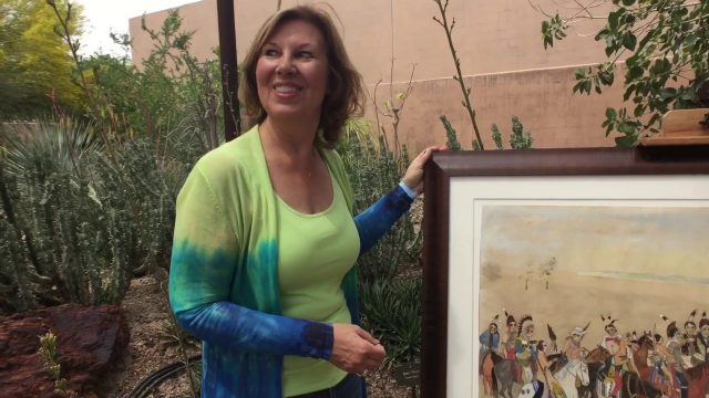 Antiques Roadshow films at Phoenix's Desert Botanical Gardens