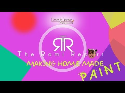 DGM The Romi Report Making HomeMade Paint