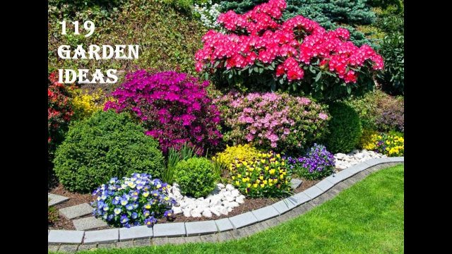 119 Garden Backyard and Landscape Ideas 2019 | Flower decoration #132