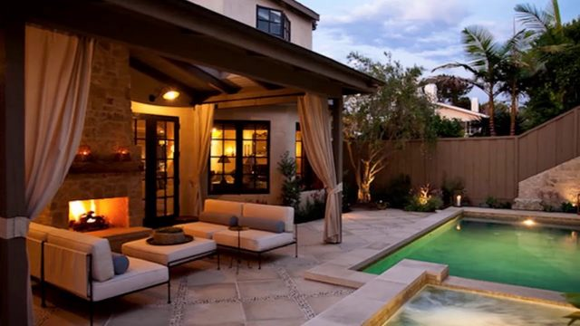 [Modern Backyard] Small Backyard With Pool Landscaping Ideas [Small Backyard Ideas]