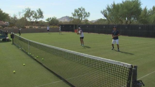 Wimbledon in the Arizona desert
