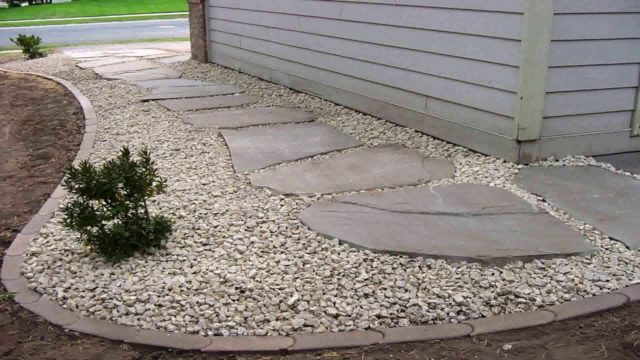 Landscaping Ideas With Rocks And Pavers