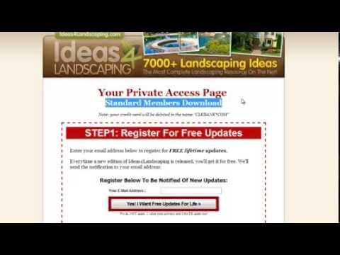 Ideas 4 Landscaping – just purchased – overview