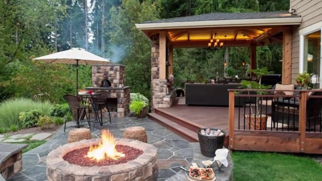 10 Stunning backyard patio design ideas
