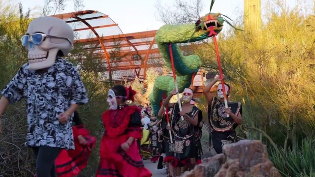 DIA DE LOS MUERTOS CELEBRATION AT DESERT BOTANICAL GARDEN