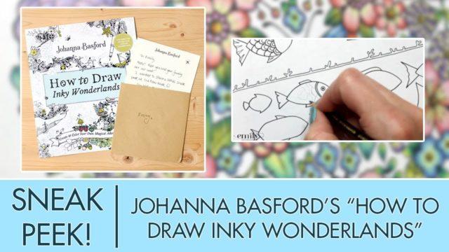 {LIVESTREAM} Johanna Basford New Book Sneak Peek!!