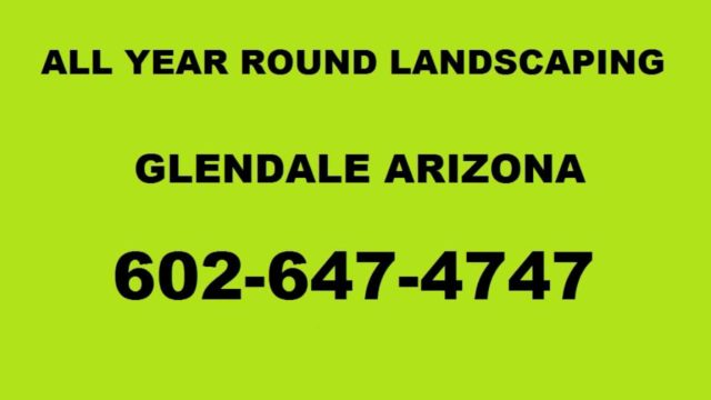 landscape ideas glendale az