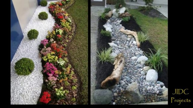 Landscape Design/ Garden ideas. Pathways & pebble Designs.