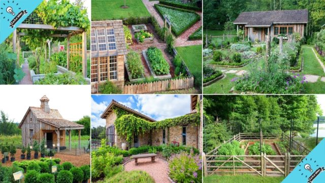 Beautiful farmhouse landscape Garden Ideas | Garden Ideas