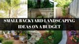 [Modern Backyard] Small Backyard Landscaping Ideas On A Budget [Small Backyard Ideas]