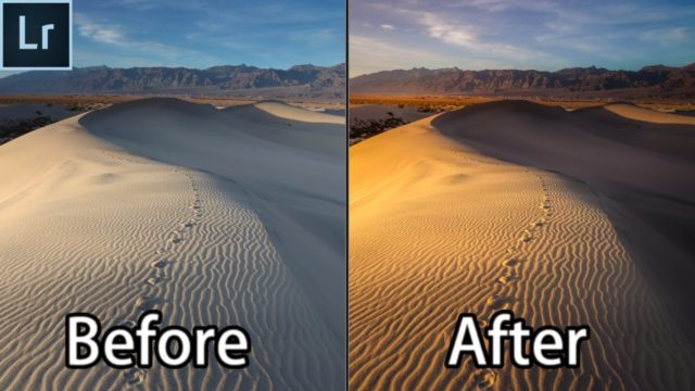 Lightroom 6 2016 Landscape Photography Editing Tutorial – The Dunes of Death Valley National Park