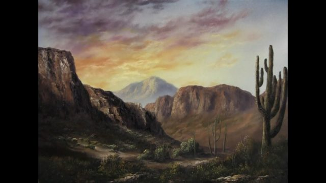 Paint with Kevin Hill – Sunlight Across the Desert