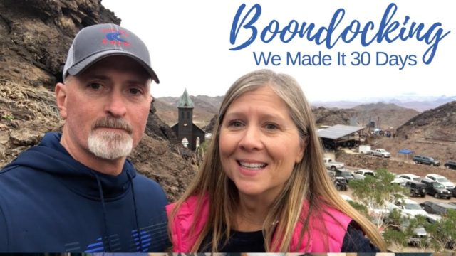 Boondocking in Arizona (DESERT BAR ROCKS!!)-  Full Time RV