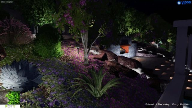 3D Arizona Waterfall Landscape Design – Fremont Project