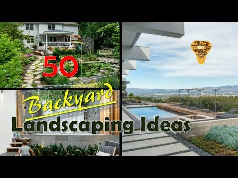 50 Backyard Landscaping Ideas