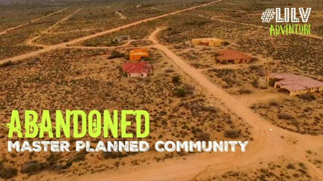 ABANDONED Places in Arizona – Master Planned Community