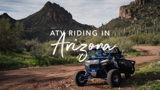 ATV Riding in the Arizona Desert