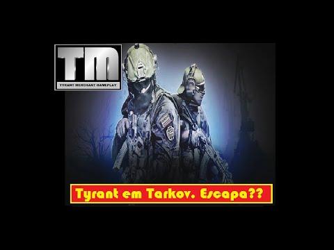 Scape From Tarkov – Tyrant solo  escapando da morte.