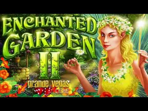 Grande Vegas Giving Free Spins on New Enchanted Garden II Slot from RTG