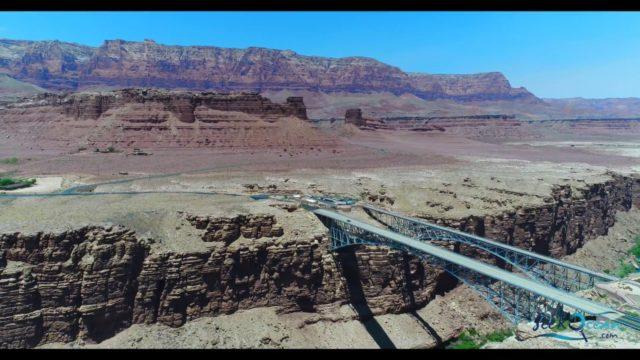 Phantom 4 Pro Arizona Horseshoe Bend Page Landscape 4K Drone Flight 2017
