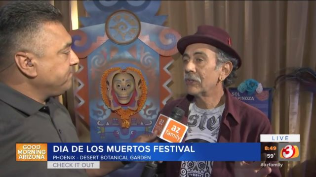 VIDEO: Desert Botanical Garden in Phoenix celebrates Dia de los Muertos