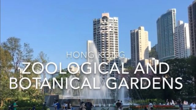 HONGKONG ZOOLOGICAL AND BOTANICAL GARDENS