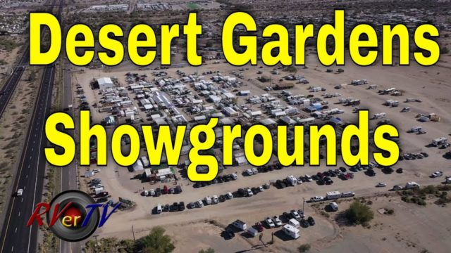 Desert Gardens Showgrounds Aerial View – LTVA Busy?