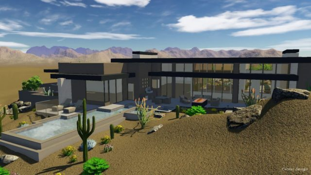 Xeriscape Landscape Design – Oro Valley Tucson Vail Example Home