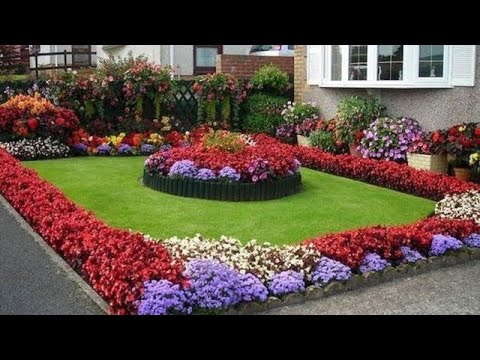 BEAUTIFUL SMALL FLOWER GARDEN LANDSCAPING IDEAS