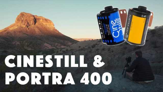Shooting Cinestill 50D and Kodak Portra 400 in the Desert | Photography Tips