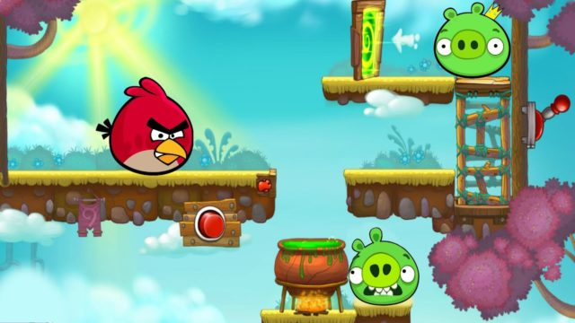 Angry Birds Scape All Levels 1-24 Gameplay 2020
