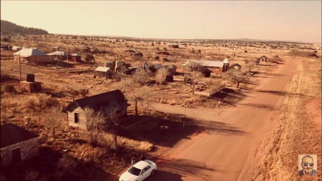 Abandoned Ghost Town in the Middle of the Desert Rout 66