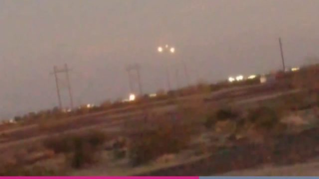 Could This Be A 'UFO Fleet' Over an Arizona Desert!?