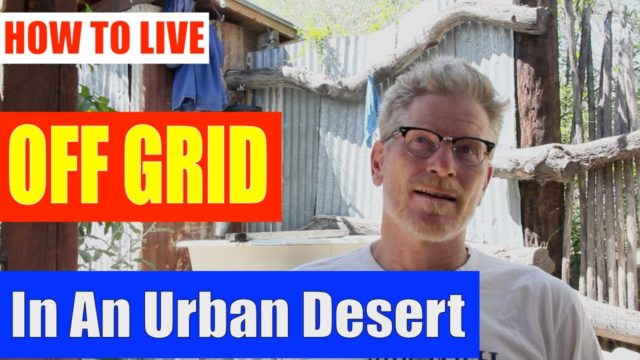 Live off grid in urban desert – Tips from Brad Lancaster, Tucson Arizona
