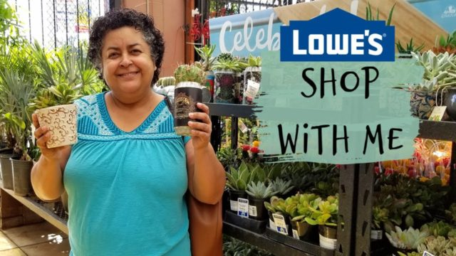 Lowes Shop With Me for Succulents and Cacti