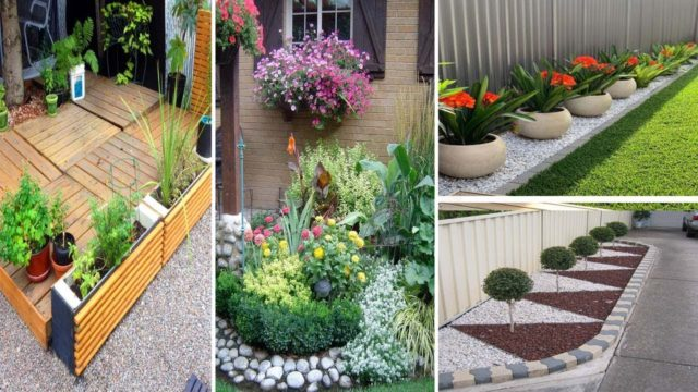 70 Beautiful Low Maintenance Front Yard Garden and Landscaping Ideas | garden ideas