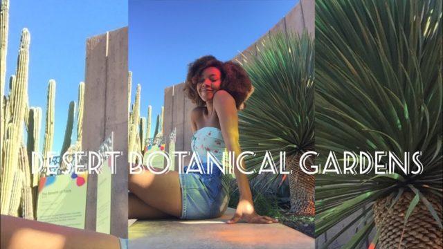 Phoenix Desert Botanical Gardens Vlog – (My Cacti Paradise)
