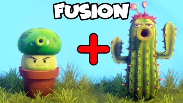 FUSION PVZ: PRINGUESETA CON CACTUS   Plants Vs Zombies: Garden Warfare 2