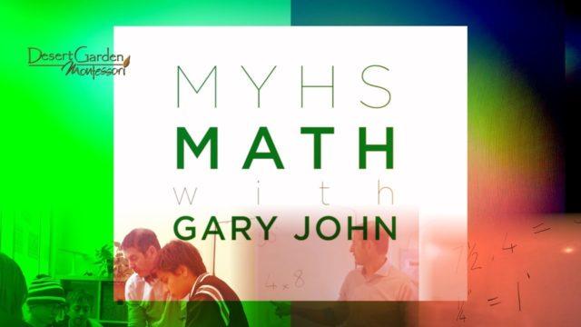 DGM MYHS MATH w Gary John