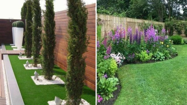 100 Ideas for garden landscaping design, front yard landscaping ideas 2020