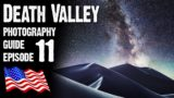 DEATH VALLEY Landscape Photography GUIDE, California