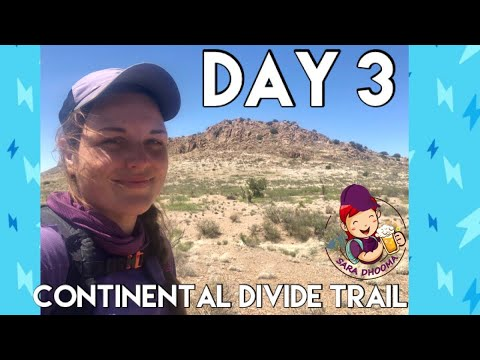 Day 3- Continental Divide Trail | Hiking through the Chihuahuan Desert with Trail Magic Surprise