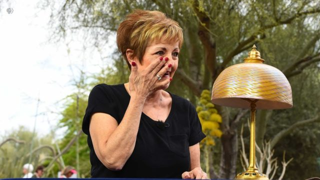 Preview: L.C. Tiffany Furnaces, Inc. Lamp | Desert Botanical Garden, Hr 1 | ANTIQUES ROADSHOW | PBS