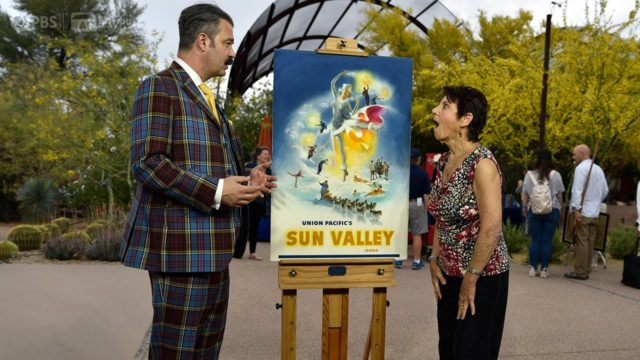 Preview: C. Peet Sun Valley Poster Maquette | Desert Botanical Garden Hr 2 | ANTIQUES ROADSHOW | PBS